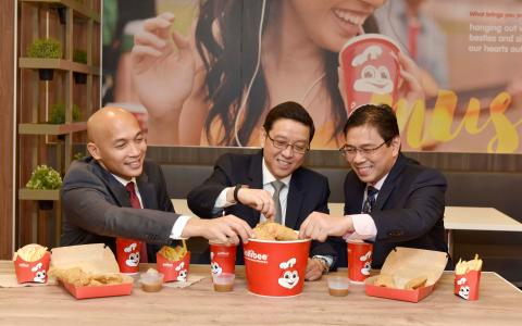 Chicken or beef... why not have both? Jollibee launches in Britain