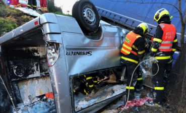 Four Ukrainians die and one injure in car accident in Czech Republic