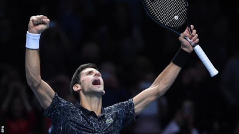 Dominant Djokovic beats Isner in London