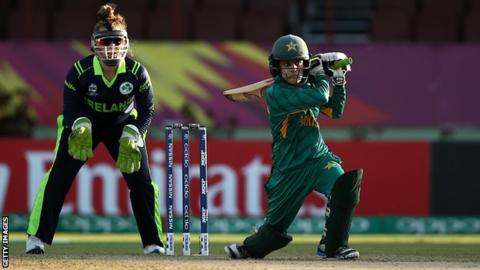 Pakistan condemn Ireland to second Women