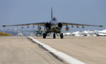 Joint Forces aviation exercises attacks at enemy