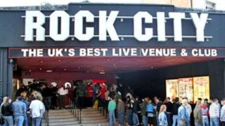 Nottingham Rock City evacuated after