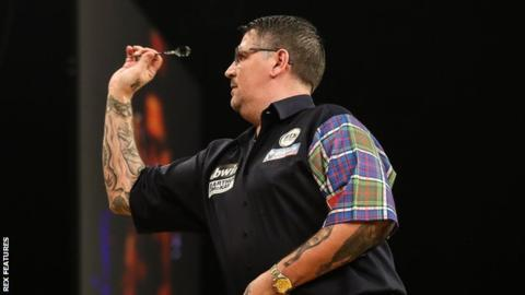 Gary Anderson & Wesley Harms deny farting accusations at Grand Slam of Darts