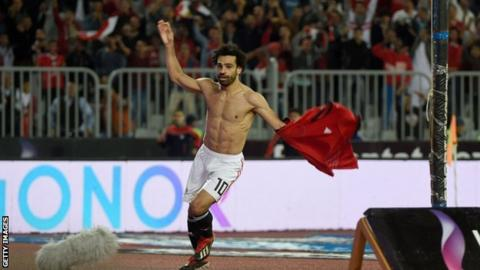 Mohamed Salah: Egypt forward scores last-minute winner against Tunisia