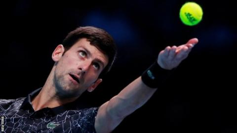 Djokovic beats Anderson to join Zverev in ATP final