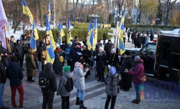 Action against march to Transgender Day of Remembrance undergoes in Kyiv