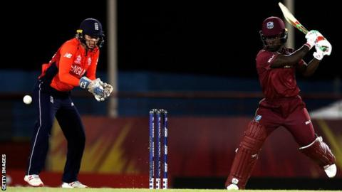 England to face India in semis after last-over defeat by West Indies