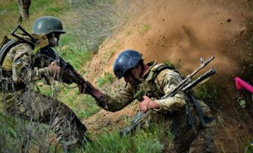 Militants violate ceasefire ten times, two Ukrainian servicemen injure