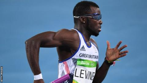 GB sprinter Levine banned for four years