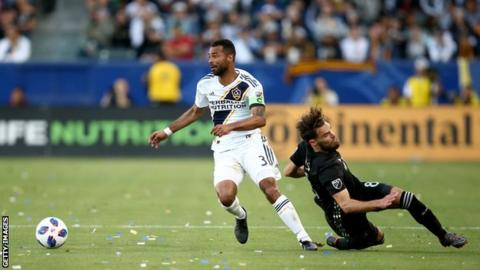 Ex-England defender Cole released by LA Galaxy