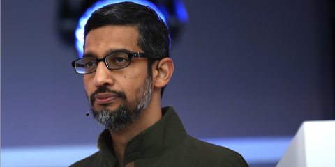 As employees walked out, Google CEO Sundar Pichai apologized again for how it handled sexual misconduct allegations: 'We didn't always get it right' (GOOG, GOOGL)