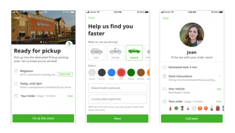 Instacart expands a pickup option for grocery orders across