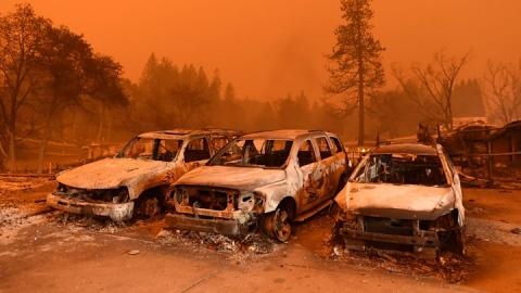 California wildfires: