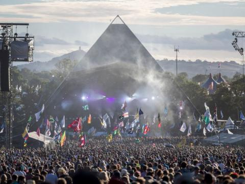 Stormzy for Glastonbury? Oxfam posters