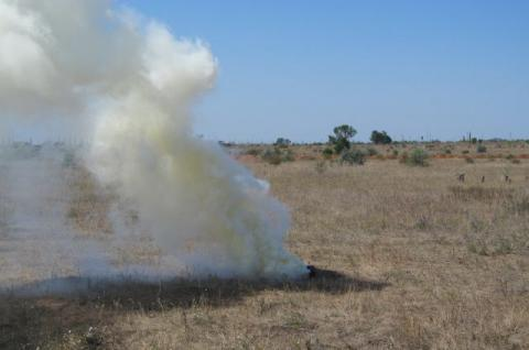 Explosion occurs at firing range in Rivne region, 19-year-old soldier wounded