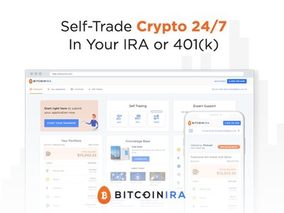 BitcoinIRA.com Launches The World's First 24/7 Self-Trading Platform For Retirement Accounts