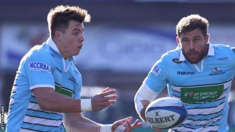European Rugby Champions Cup: Lyon 22-42 Glasgow Warriors
