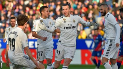 Bale scores winner as Real Madrid beat Huesca