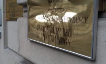 Vandals damage Ukrainian cultural centre in Paris
