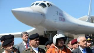 US-Russian spat over Russian bombers landing in Venezuela