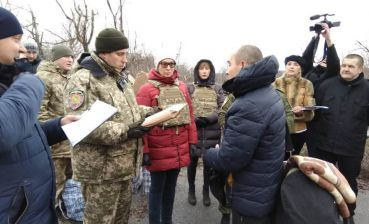 42 inmates transferred from occupied Luhansk to Ukraine-controlled territory