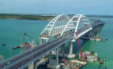 Russia built Crimean Bridge to close Sea of Azov for Ukraine