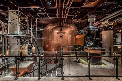 Starbucks Opens 23,000-Square-Foot Immersive Coffee Destination in New York