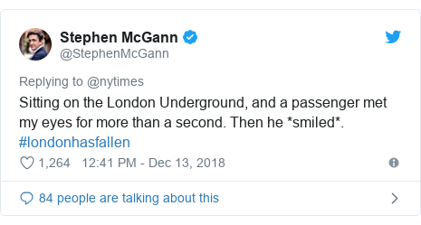 New York Times London crime Twitter appeal backfires