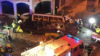 Children hurt in Lisbon tram crash