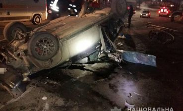 Two people died in car accident in Zaporizhia region