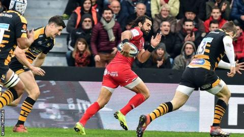 Wasps out of Champions Cup after Toulouse defeat