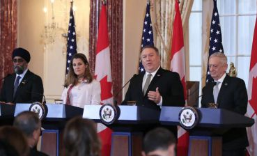 U.S. and Canada discuss Russian aggression in Ukraine