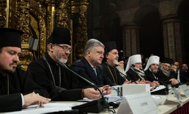 Ecumenical Patriarch and Synod confirmed illegality of annexation of Kyiv Metropolis by Moscow, - Poroshenko