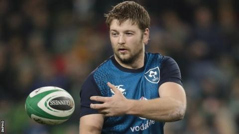 Ireland forward Henderson to miss most of Six Nations