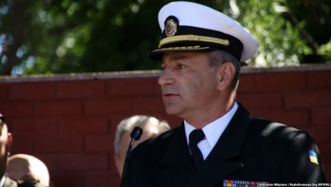 Ukraine's Naval Commander offers himself in exchange for detained Ukrainian sailors