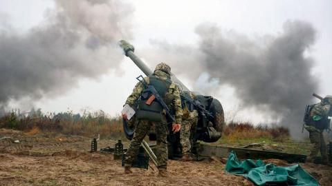 Ukrainian serviceman wounded in Donbas today