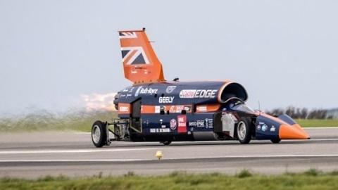 Bloodhound supersonic car project saved