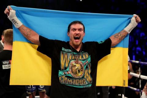 ESPN names Usyk best boxer of 2018