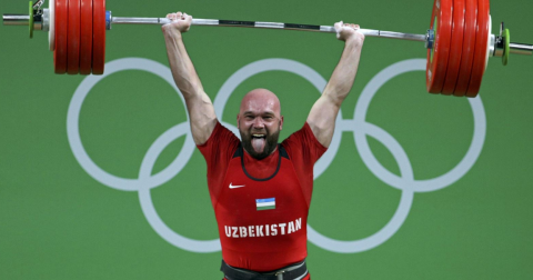 Ukrainian weightlifter suspended after positive doping test