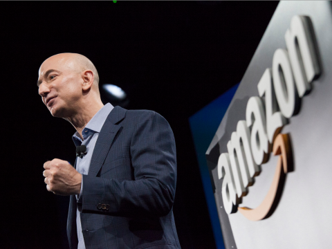 The richest person in the world, Amazon CEO Jeff Bezos, added more money to his fortune in 2018 than any other billionaire (AMZN, MSFT, FB)