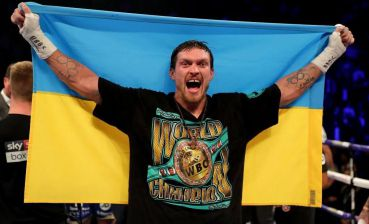 "Ukrainian Usyk becomes ""Fighter of the Year"" according to BoxingScene"