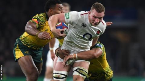 England's Underhill to miss Six Nations after ankle surgery