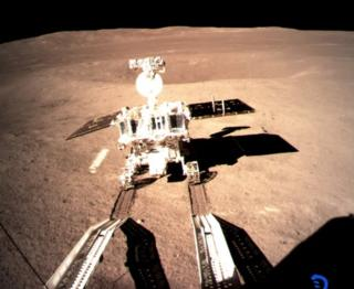 Chang'e-4: China Moon probes take snaps of each other