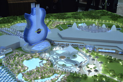 Hard Rock International Unveils Full-Scale Model of its World-Class Entertainment Resort Concept to Japan