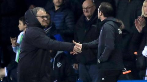Leeds United 2-0 Derby County: Marcelo Bielsa