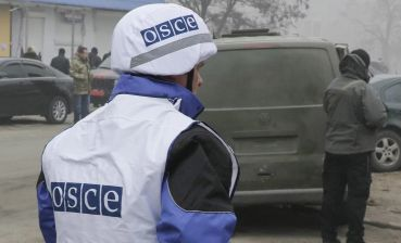 Donbas militants fired SMM OSCE drone