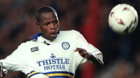 Former Leeds and South Africa striker Masinga dies aged 49