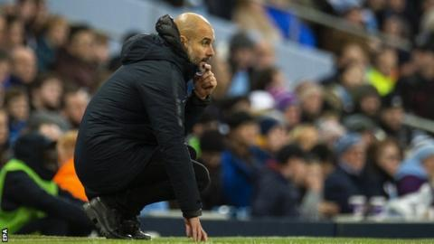 Guardiola tells players to forget about Liverpool's fixture list