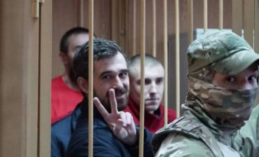 Russian court rules to keep all Ukrainian sailors in detention until April 24