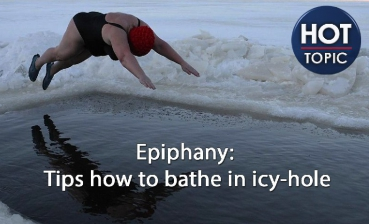 Epiphany: Tips how to bathe in icy-hole